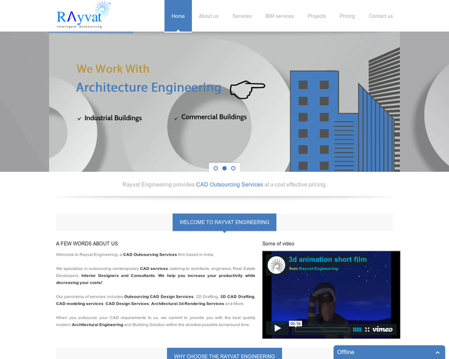 Rayvat Engineering - CAD Services