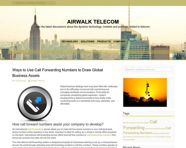 AirWalk Communications