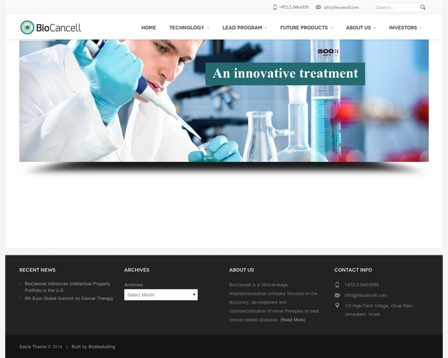 BioCancell Therapeutic