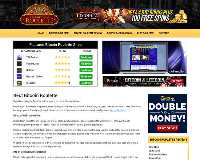 Best Bitcoin Roulette