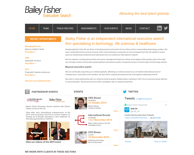 Bailey Fisher Executive Search
