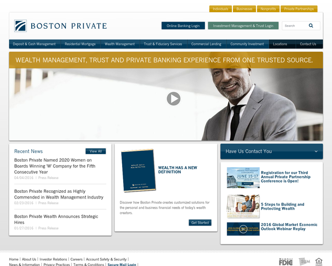 Boston Private Financial Holdings