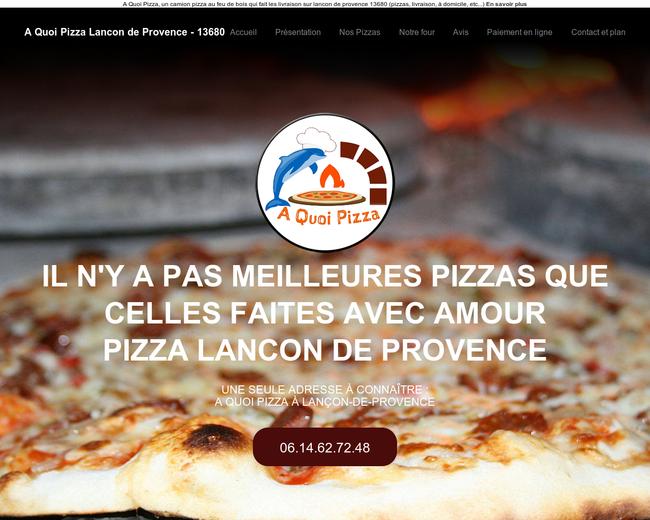 A Quoi Pizza