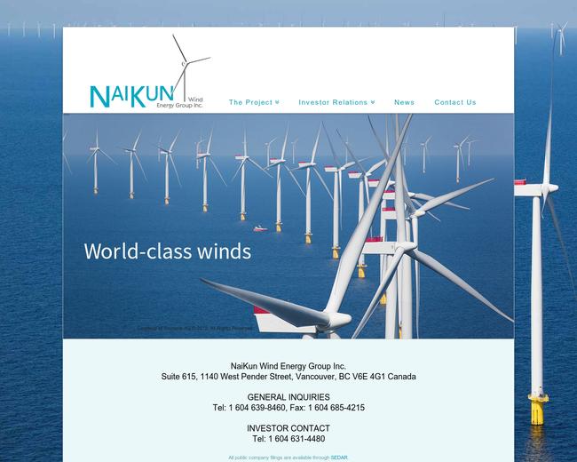 NaiKun Wind Development