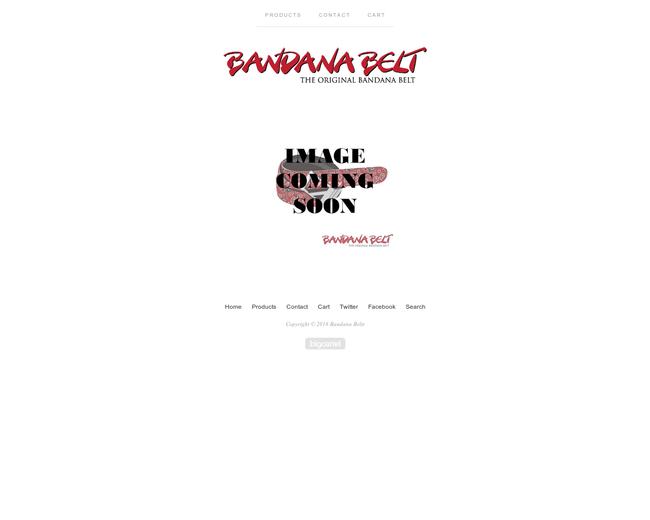Bandana Belts