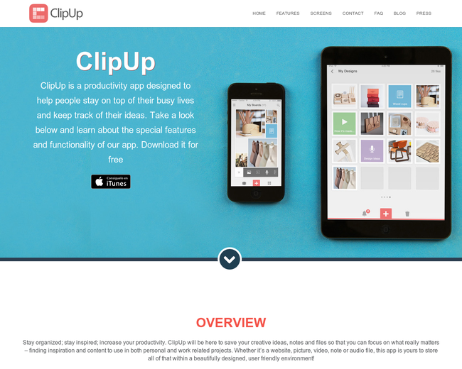 ClipUp