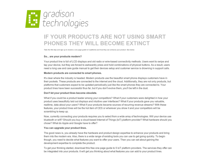 Gradison Technologies