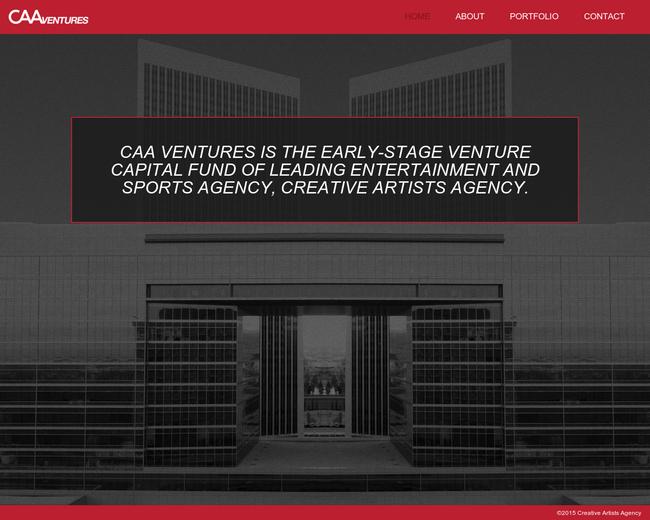 CAA Ventures
