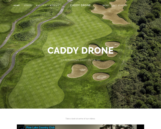 Caddy Drone