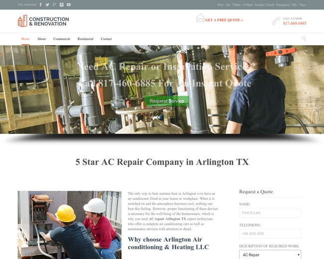 Arlington Air Conditioning & Heating