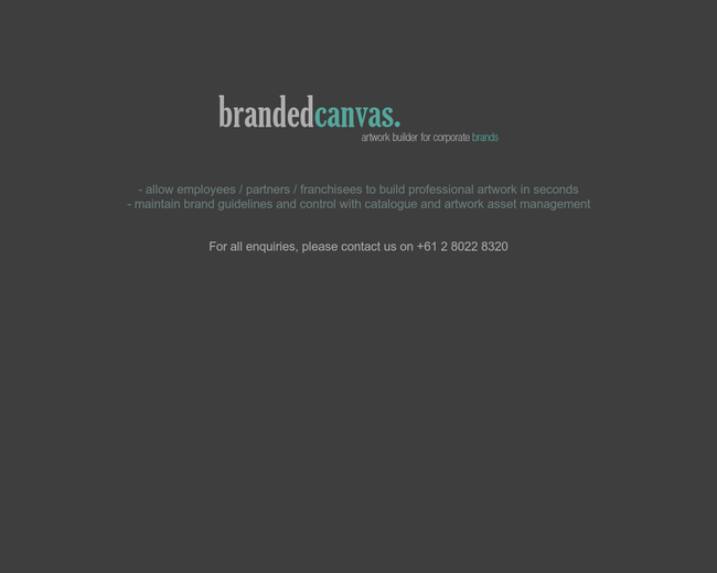 Branded Canvas
