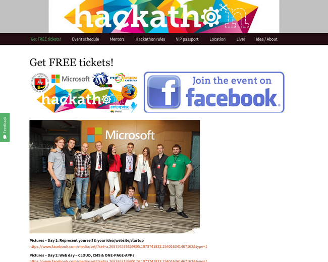 Hackathon.lt - Lithuania Developer Days 2014