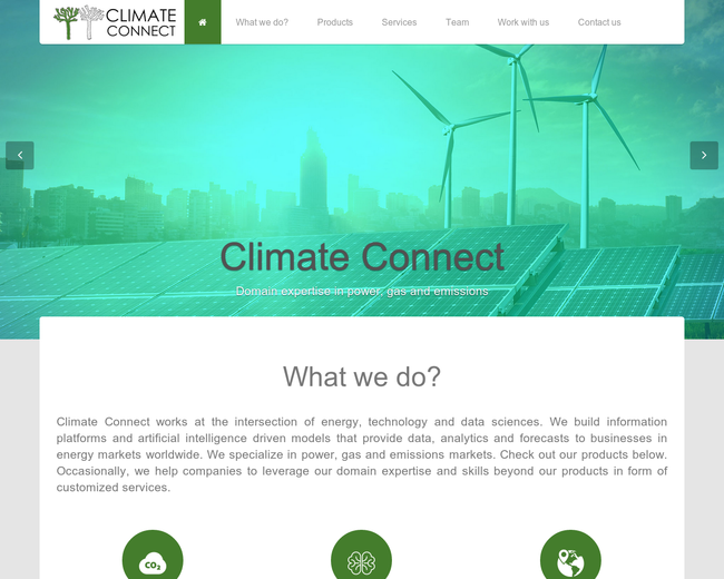 ClimateConnect Information Services