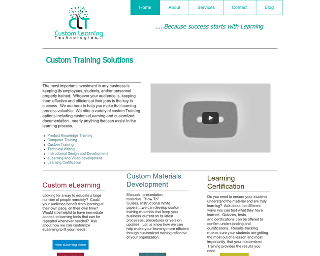 Custom Learning Technologies