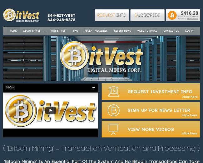 Bitvest Digital Mining