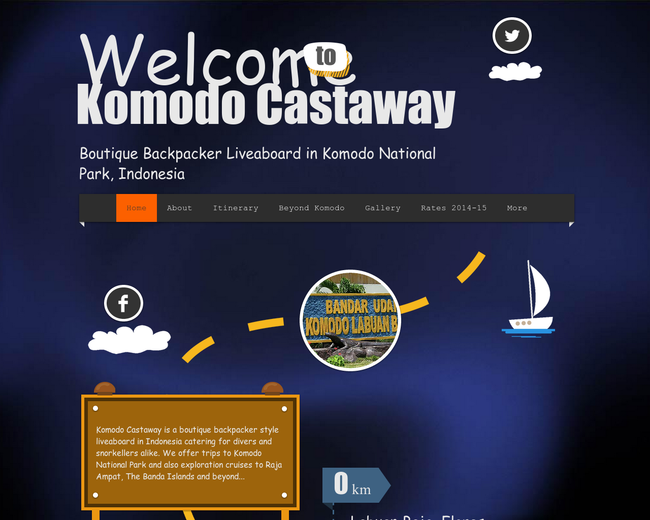 Komodo Castaway and Komodo Backpackers