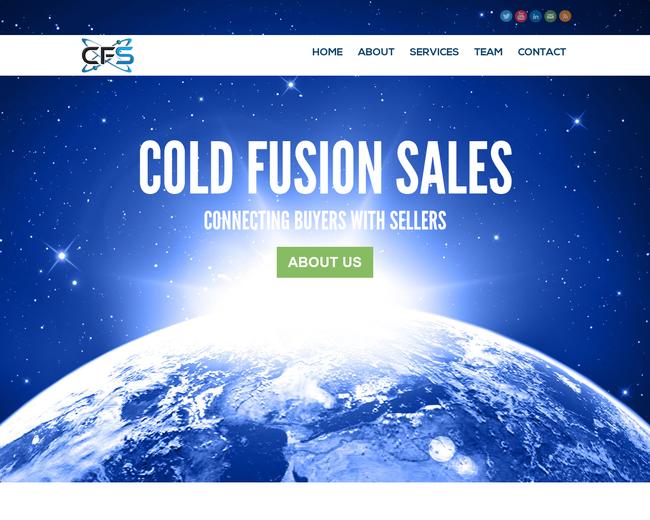 Cold Fusion Sales