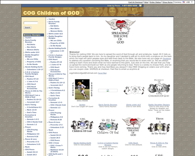 COG Children Of God