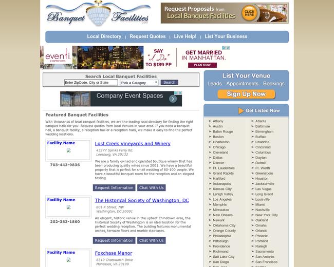 BanquetFacilities.com