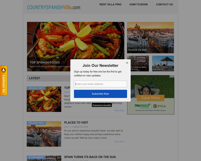 Country Spanish Rentals