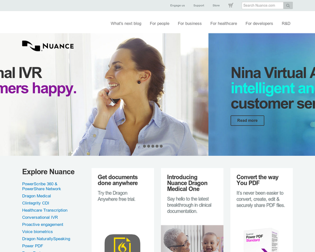 eCopy and Nuance Communications