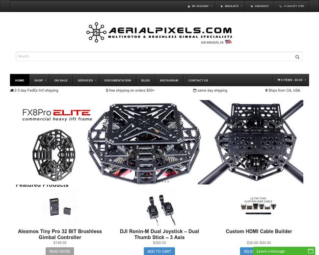 Aerial Pixels