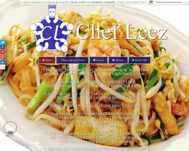 Chef LeeZ Cooking School Bangkok