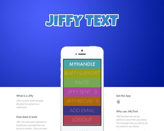 Jiffy Text