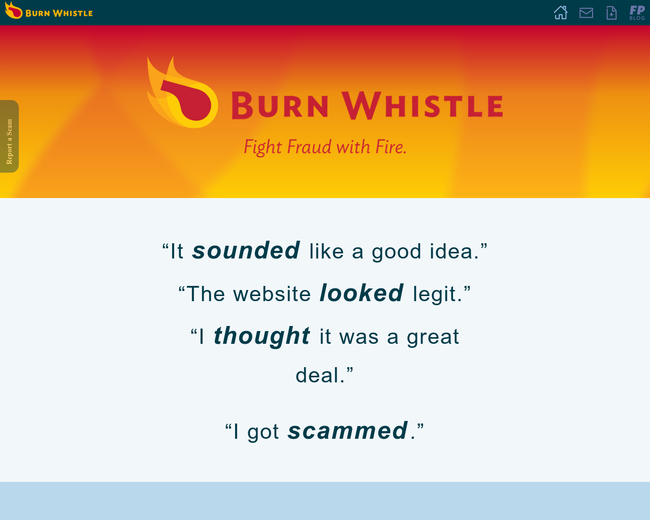 Burn Whistle
