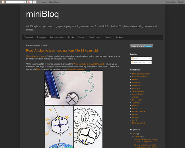 miniBloq