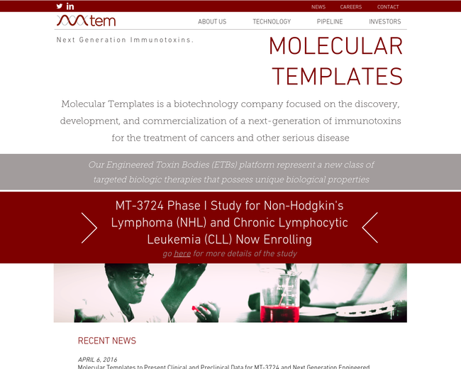 Molecular Templates on Iterate Studio