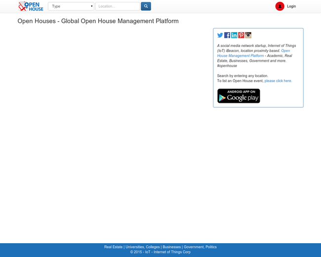 Open Houses Management Platform