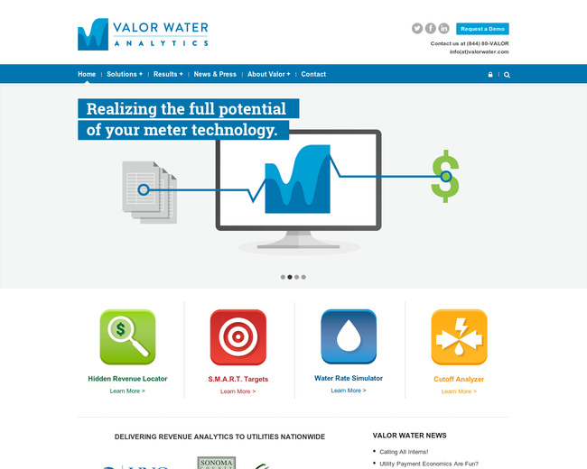 Valor Water Analytics