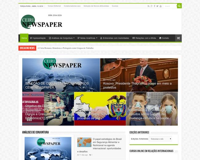 CEIRI NEWSPAPER