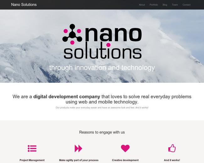 Nano Solutions