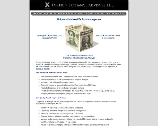 Foreign Exchange Advisors