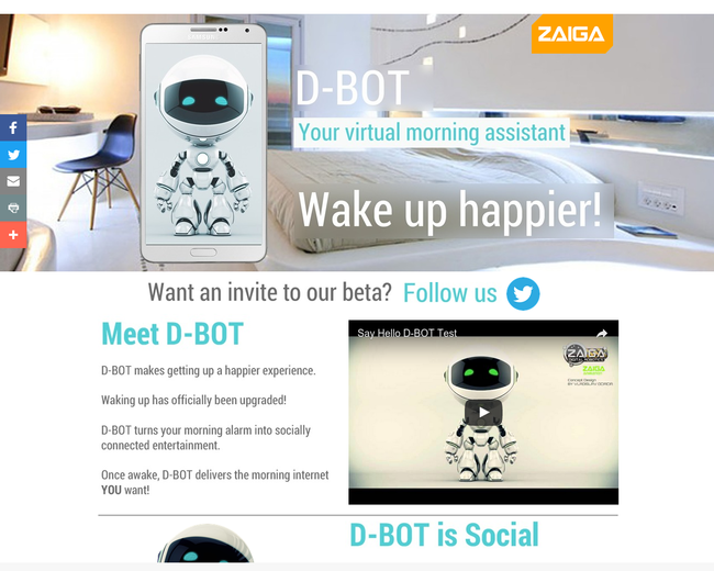 ZAIGA Virtual Robotics