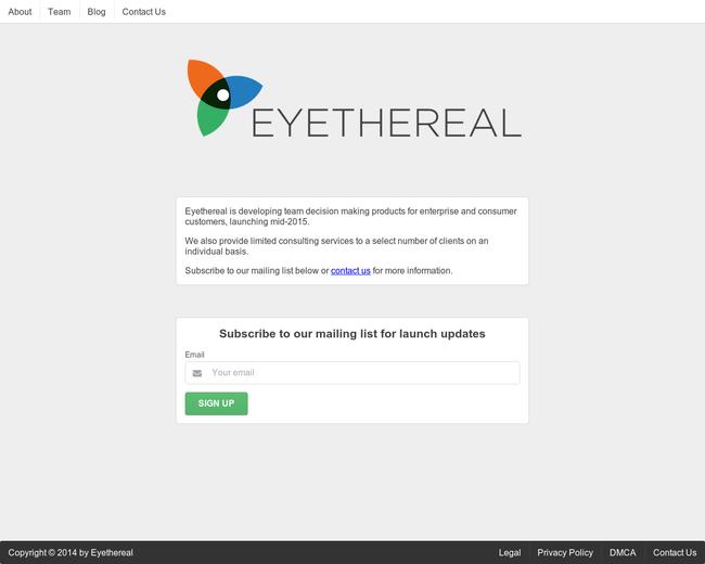 Eyethereal