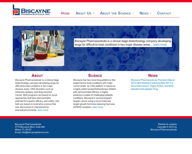 Biscayne Pharmaceuticals