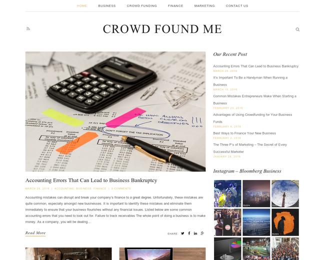 CrowdFoundme Magazine