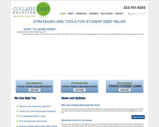 College Debt Solution