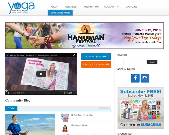Yoga Digest