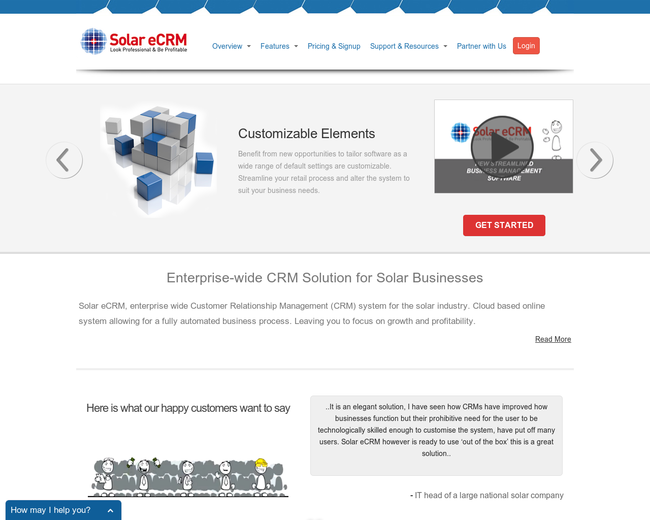 Solar eCRM