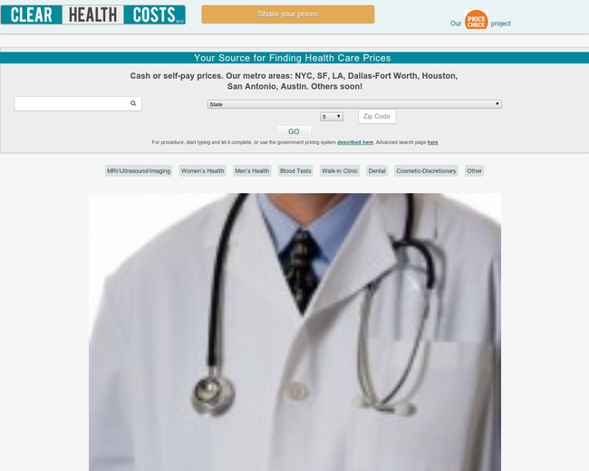 clearhealthcosts.com