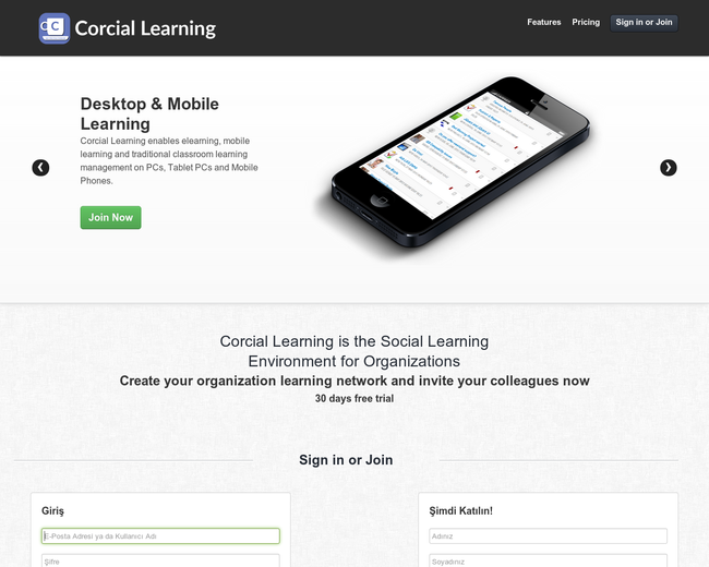 Corcial Learning