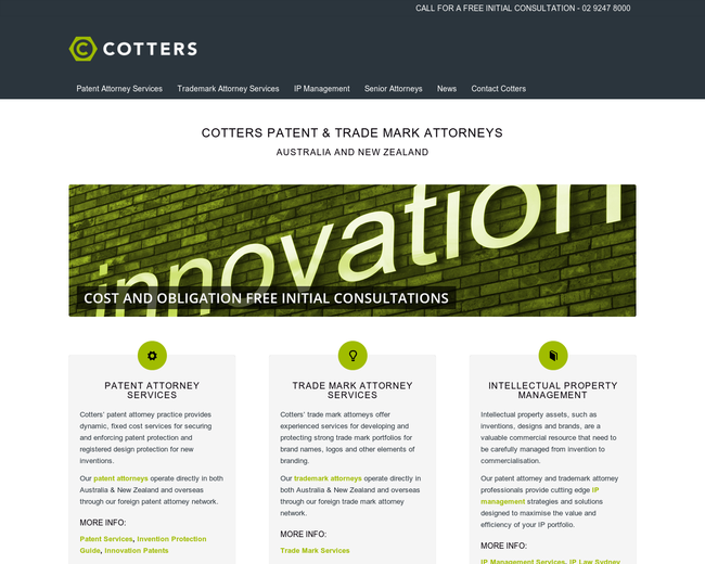 Cotters