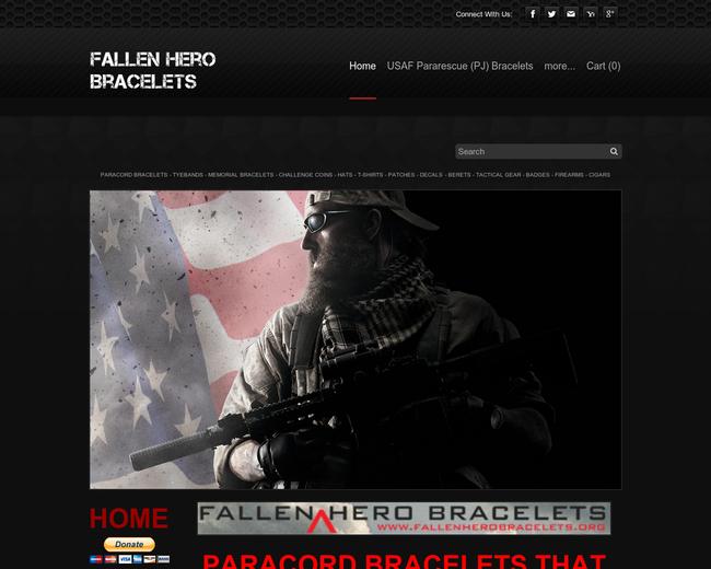 Fallen Hero Bracelets