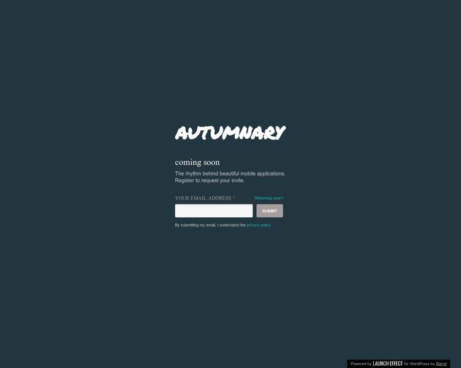 autumnary