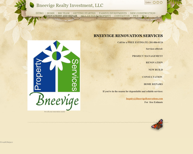 Bneevige Renovation Services