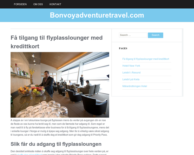 Bonvoy adventure travel